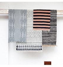 Matta Block 70x240 cm Svart/grå