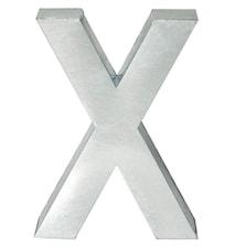 Metallvetica bokstav - X