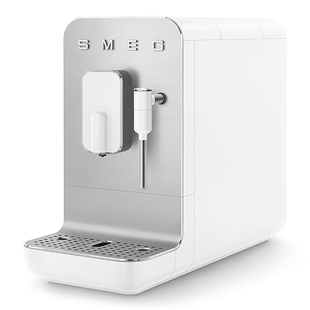 Helautomatisk Espressomaskin med Mjölkskummare Vit 1,4L