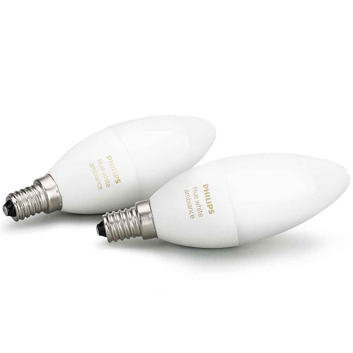 Hue White Ambiance 6W E14 2-p