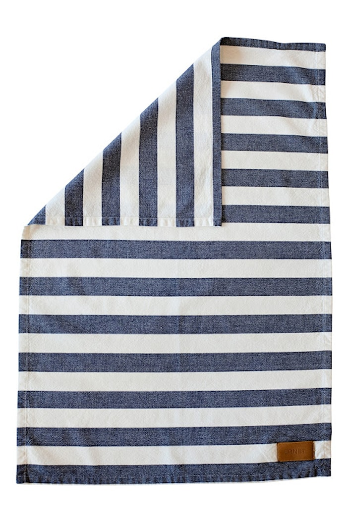 Kjøkkenhåndkle Stripete 47 x 70 cm Blå