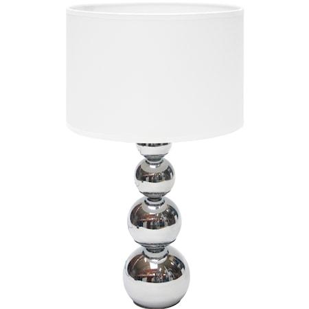 Bordlampe touch & dæmper L Hvid