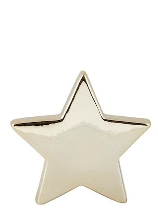 Figur Stjärna Guld 14 cm