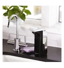 Tvål- och diskmedelspump med Sensor Kompakt 237ml Svart