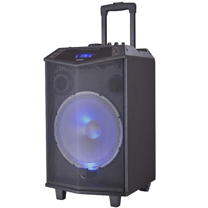 "12"" Bluetooth-högtalare rullbar"
