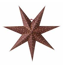 Isadora Julstjärna Burgundy 60 cm