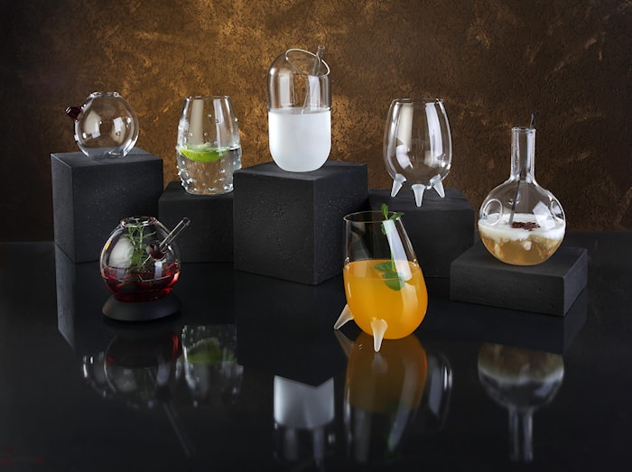 The Knobbed Cocktailglass 50cl