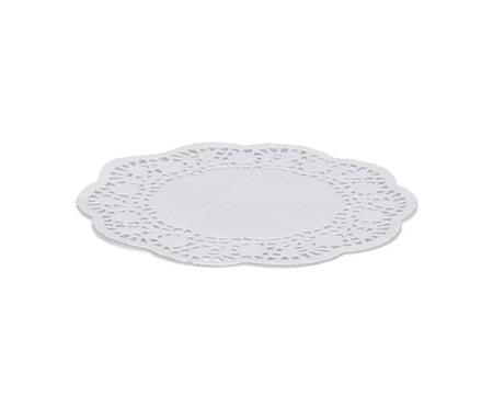 Kakkupaperi valkoinen, Ø 20 cm