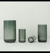 Vase Pustet Glas Copenhagen Green 20,5 cm