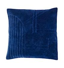Kudde Velour 50x50 cm - Blå