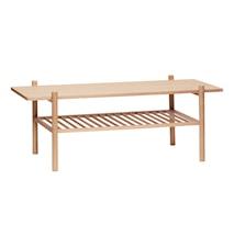 Sofabord 120x57xh46 cm - Natur