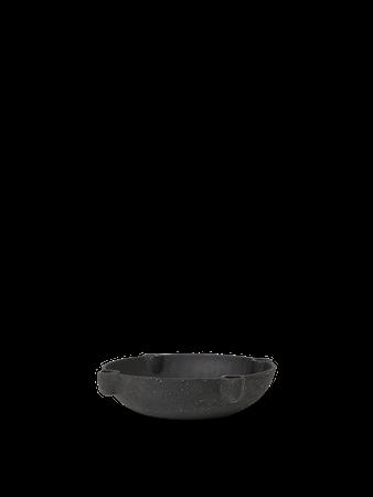 Bowl Ljusstake L Keramik Dark grey