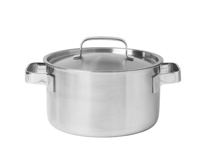 Somme Gryta med lock stål 3 liter