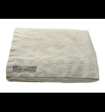 Lovely linen påslakan – Off white, 150x220