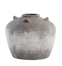 Dekorationsvase Novinne 33,5 cm Grå