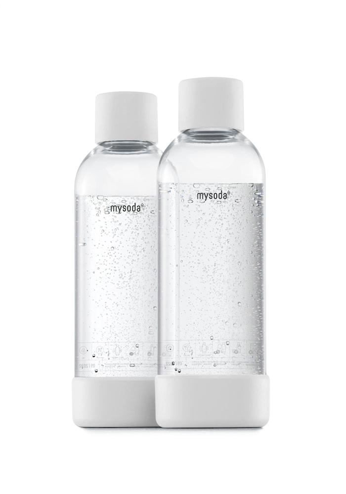 1 L Flaske 2-pak Hvid