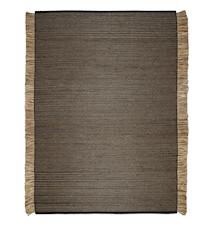Goa Teppe Svart/Jute 200x300 cm