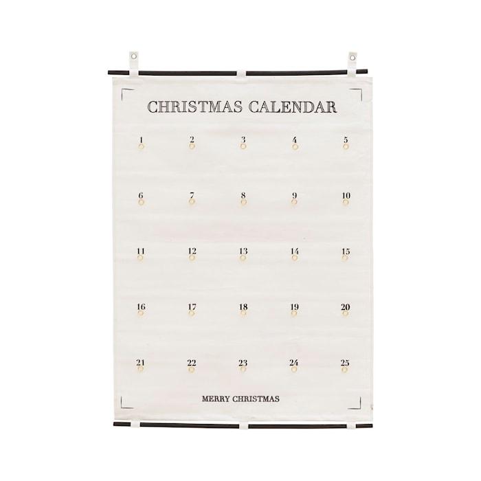 Adventskalender 25 days till Christmas 75x100cm