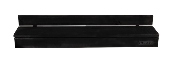 Mini Furu Svart Rectangular Low