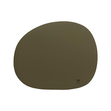 Raw Organic Tablett Military Olive