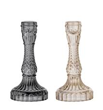 Lysestage Glas Ø 8,5 cm