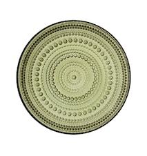 Kastehelmi tallerken 17 cm - Mosgrøn