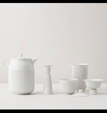 Tsè Tekop 17 cl Hvidt Porcelæn
