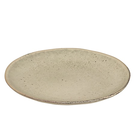 Assiette stentøj Nordic Sand Ø 15 cm