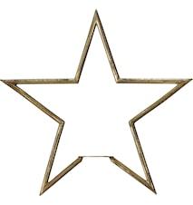 Tindra Stjärna Råmässing 35cm