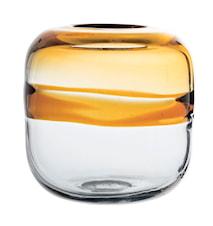 Vase Brun Glas 16x16,5cm