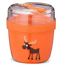 N'ice Cup Matlåda med Kylskiva Orange