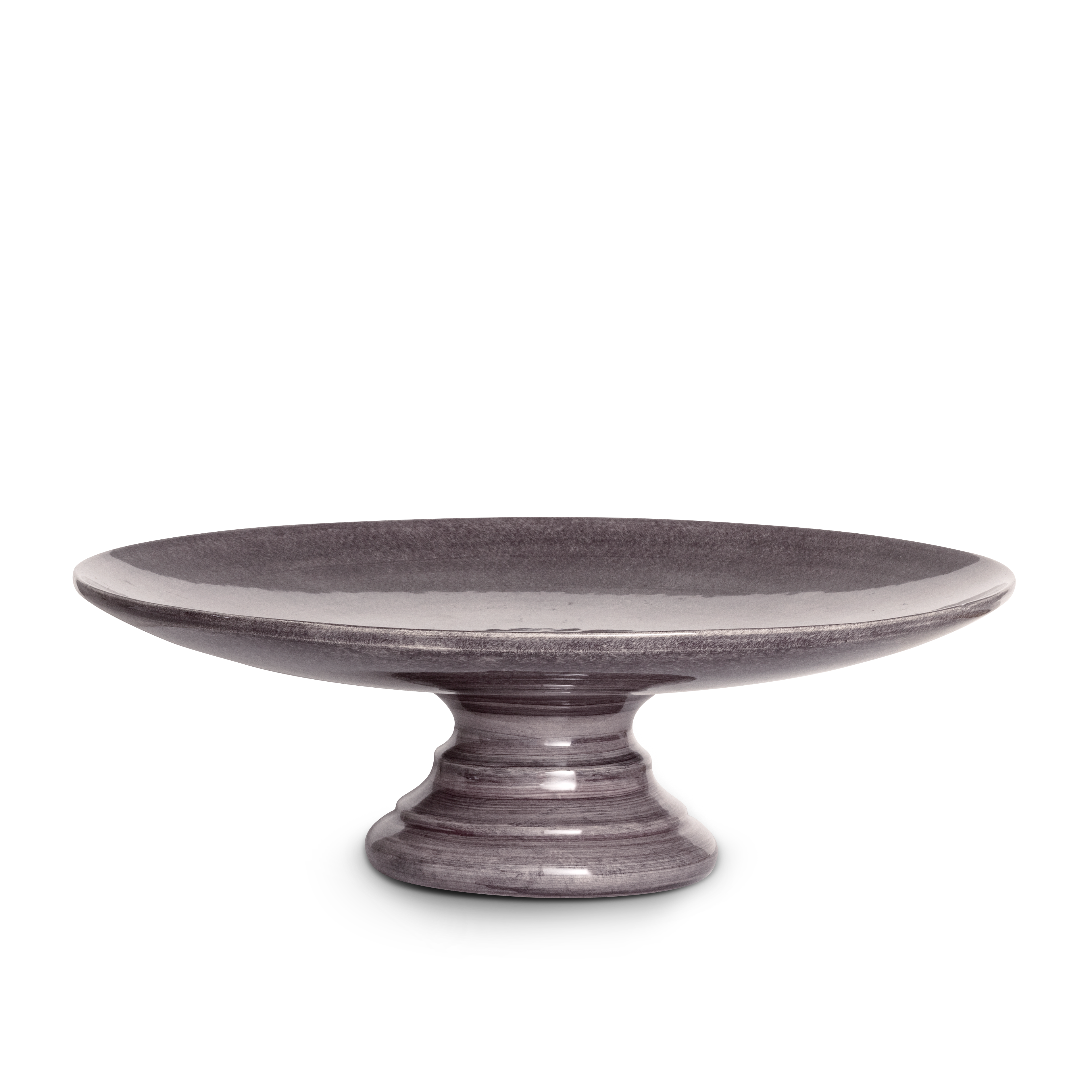 Basic Tårtfat Plommon 33 cm