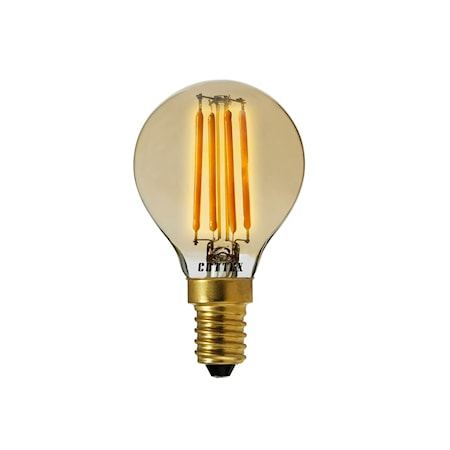LED Amber E14 Klot 3,5 W