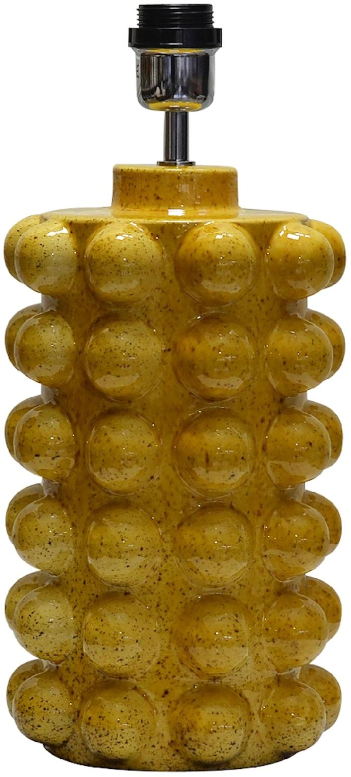 Bubbels Lampfot Mustard 38 cm
