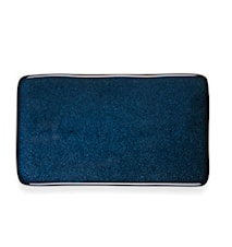 Kuverttall. 22x12,8cm mørkblå