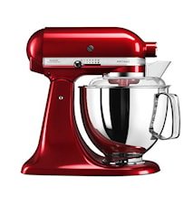 Artisan 175 Kjøkkenmaskin 4,8 liter Rød Metallic