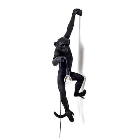 Monkey Valaisin Outdoor Hanging Vasen Versio - Musta