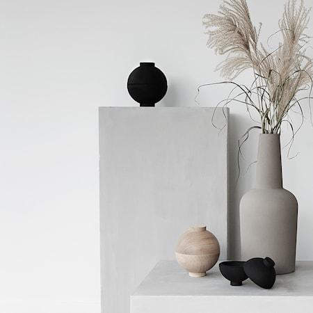 Wooden sphere xl svart