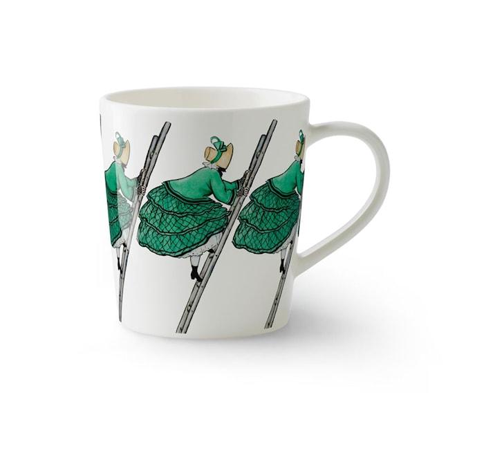 Elsa Beskow Krus med håndtak Tant Grön 40 cl