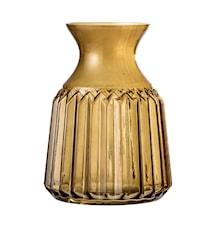 Vase Brown Glass Ø11x14,5 cm