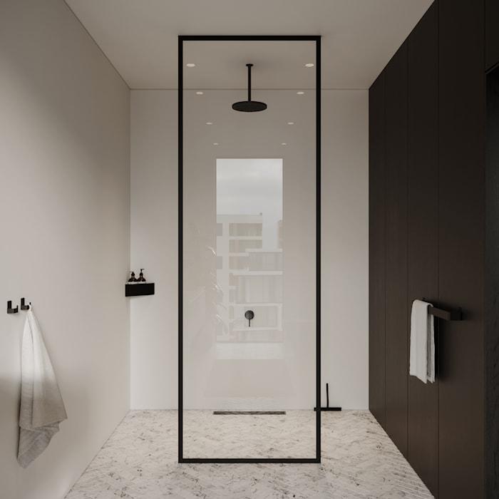 Duschskrapa Shower Wiper Svart