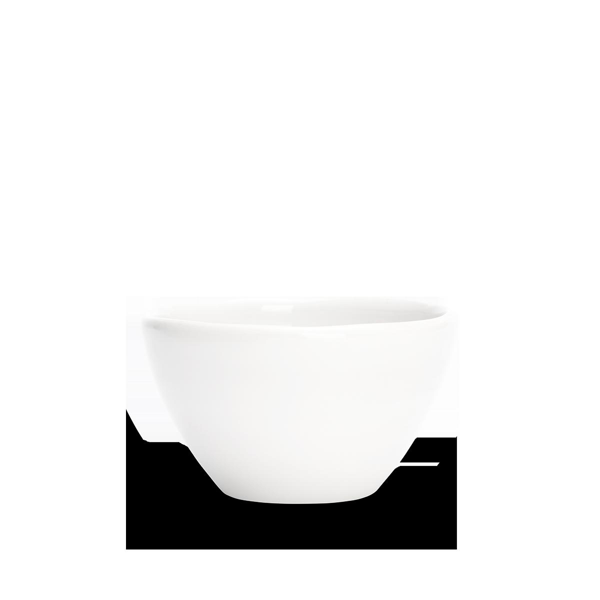 Organic Skål Vit 12 cm