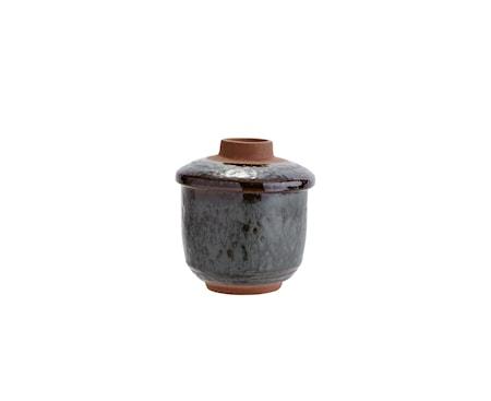 Skål Med Lokk Ø 8 cm - Petrol