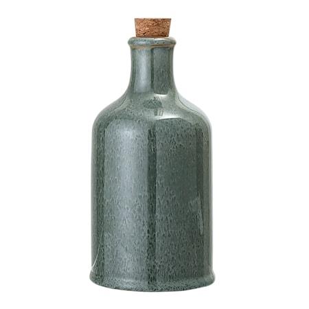 Flaske Med Kork Pixie H18,5 cm