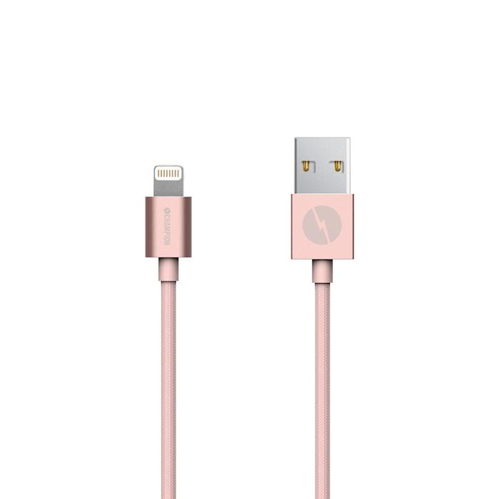 Lightning kabel 2m Rose Gold