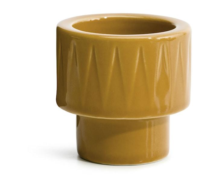 Coffee & More Äggkopp/Ljuskopp Gul
