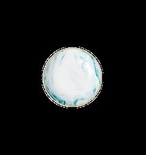 Marble print Dippskål 12 cm Porslin Grön
