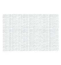 Zentangle Table Mat Grey / White 44 x 28.5 cm