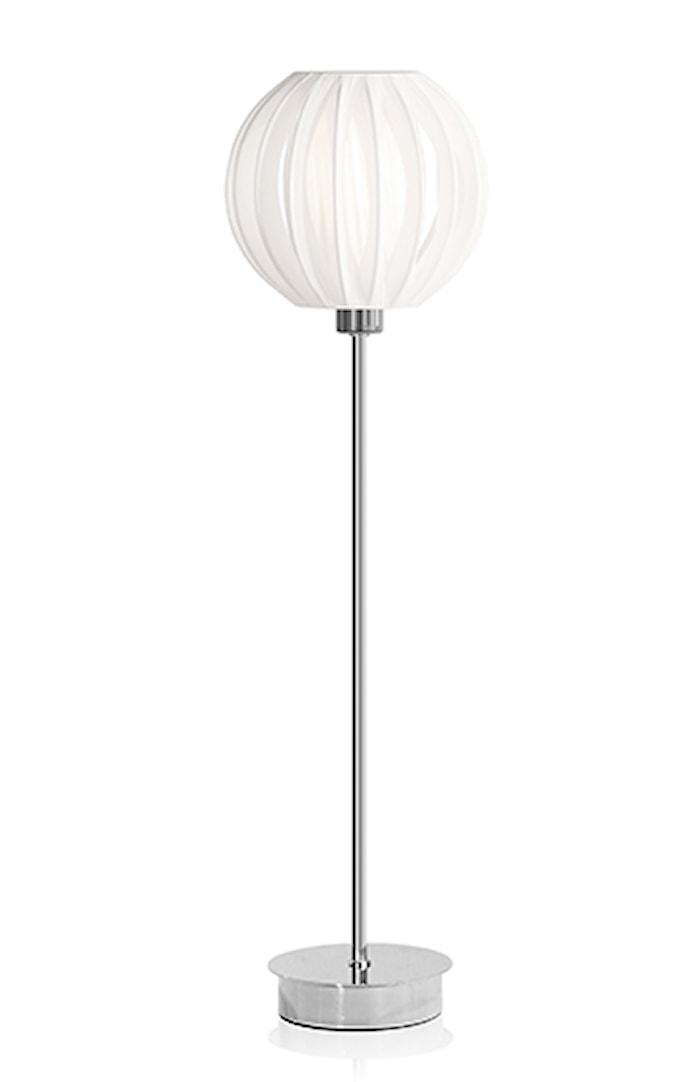 Bordlampe Plastbånd XL Krom