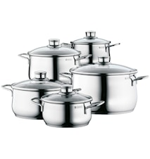 Diadem Stockpots Stainless Steel 5-pc